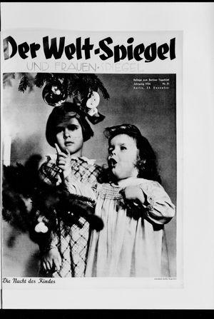 Berliner Tageblatt und Handels-Zeitung vom 23.12.1934