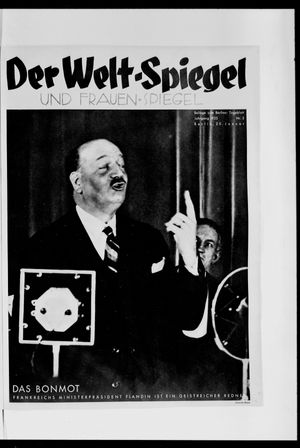 Berliner Tageblatt und Handels-Zeitung vom 20.01.1935