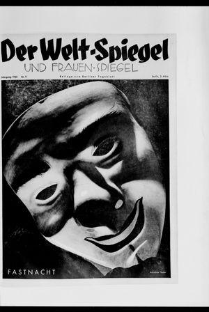 Berliner Tageblatt und Handels-Zeitung vom 03.03.1935