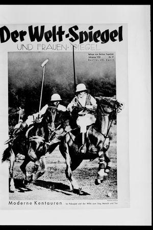 Berliner Tageblatt und Handels-Zeitung vom 28.04.1935