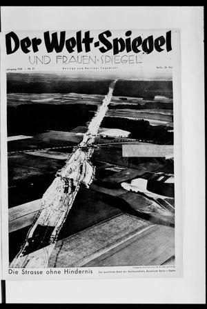 Berliner Tageblatt und Handels-Zeitung vom 26.05.1935