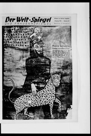 Berliner Tageblatt und Handels-Zeitung vom 11.08.1935