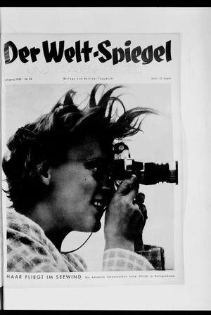 Berliner Tageblatt und Handels-Zeitung vom 25.08.1935