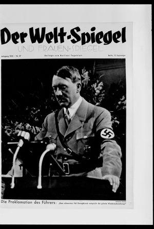 Berliner Tageblatt und Handels-Zeitung vom 15.09.1935
