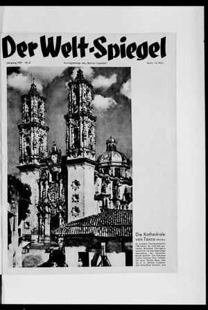 Berliner Tageblatt und Handels-Zeitung vom 14.03.1937