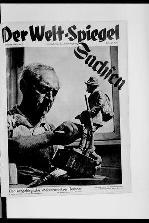 Berliner Tageblatt und Handels-Zeitung vom 25.04.1937