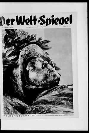 Berliner Tageblatt und Handels-Zeitung vom 13.03.1938