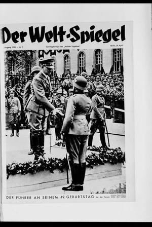 Berliner Tageblatt und Handels-Zeitung on Apr 24, 1938