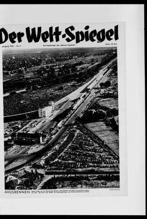 Berliner Tageblatt und Handels-Zeitung vom 22.05.1938