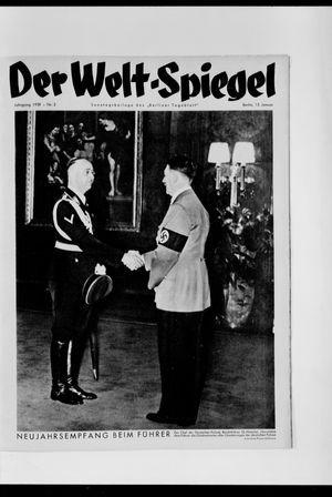Berliner Tageblatt und Handels-Zeitung vom 15.01.1939