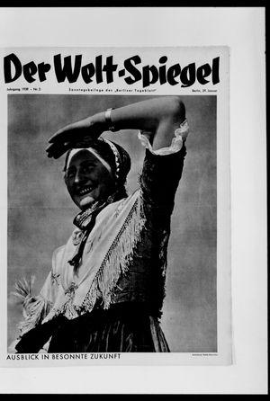 Berliner Tageblatt und Handels-Zeitung vom 29.01.1939