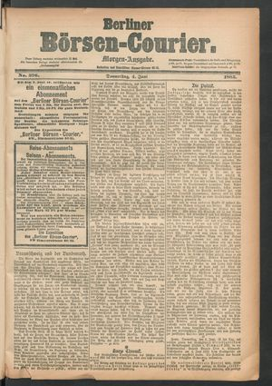 Berliner Börsen-Courier vom 04.06.1885