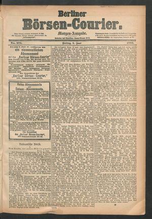 Berliner Börsen-Courier vom 05.06.1885