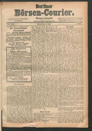 Berliner Börsen-Courier vom 06.06.1885