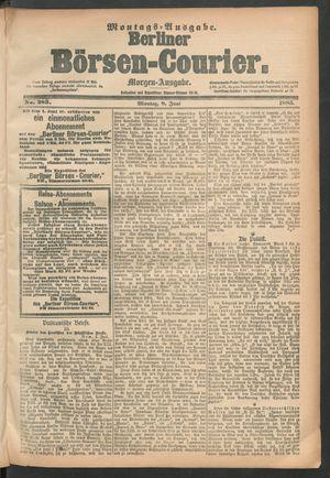 Berliner Börsen-Courier vom 08.06.1885