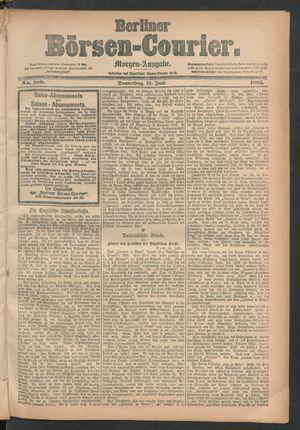 Berliner Börsen-Courier vom 11.06.1885