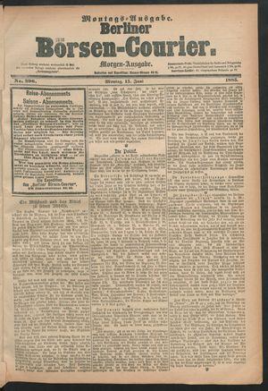 Berliner Börsen-Courier vom 15.06.1885
