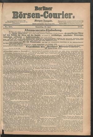 Berliner Börsen-Courier vom 18.06.1885