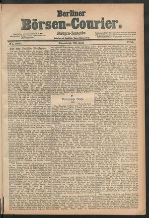 Berliner Börsen-Courier vom 20.06.1885