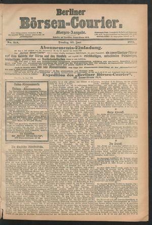 Berliner Börsen-Courier vom 23.06.1885