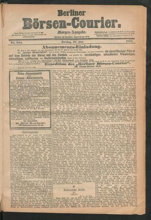 Berliner Börsen-Courier vom 30.06.1885