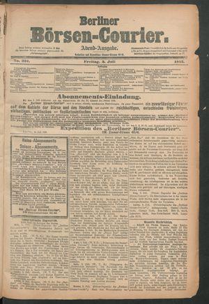 Berliner Börsen-Courier vom 03.07.1885