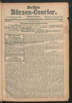 Berliner Börsen-Courier vom 04.07.1885