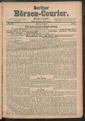 Berliner Börsen-Courier vom 05.07.1885