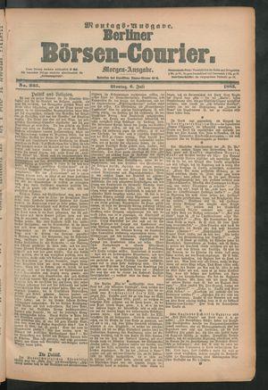 Berliner Börsen-Courier vom 06.07.1885