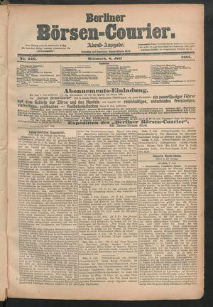 Berliner Börsen-Courier on Jul 8, 1885