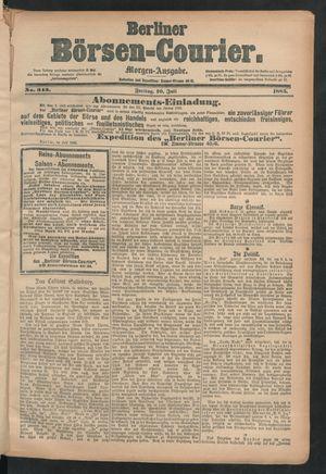 Berliner Börsen-Courier on Jul 10, 1885