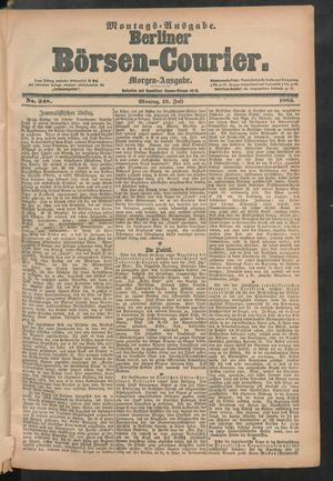 Berliner Börsen-Courier vom 13.07.1885