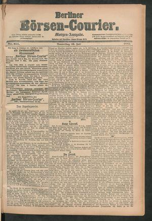 Berliner Börsen-Courier vom 16.07.1885