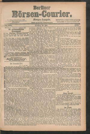 Berliner Börsen-Courier vom 21.07.1885