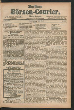 Berliner Börsen-Courier vom 23.07.1885