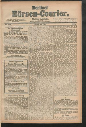 Berliner Börsen-Courier vom 24.07.1885