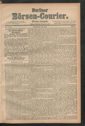 Berliner Börsen-Courier vom 25.07.1885