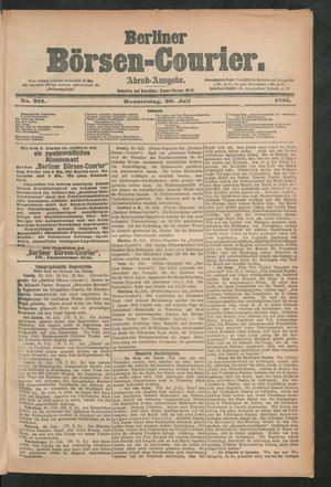 Berliner Börsen-Courier vom 30.07.1885