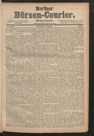 Berliner Börsen-Courier vom 08.08.1885