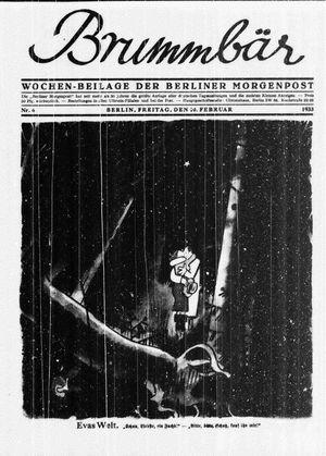 ˜Derœ Brummbär vom 10.02.1933