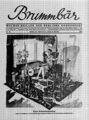 ˜Derœ Brummbär vom 10.03.1933