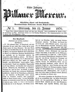 Pillauer Merkur vom 12.01.1870