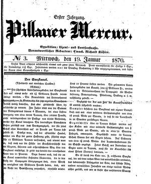 Pillauer Merkur vom 19.01.1870