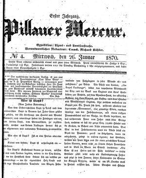 Pillauer Merkur vom 26.01.1870