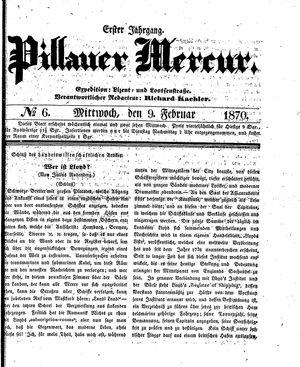 Pillauer Merkur vom 09.02.1870