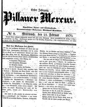 Pillauer Merkur vom 23.02.1870
