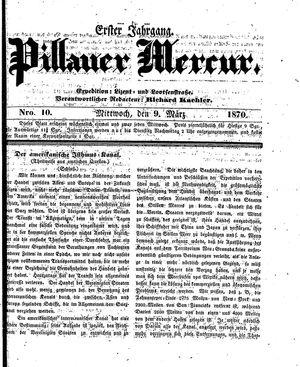 Pillauer Merkur vom 09.03.1870