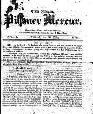 Pillauer Merkur vom 30.03.1870