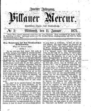 Pillauer Merkur vom 11.01.1871