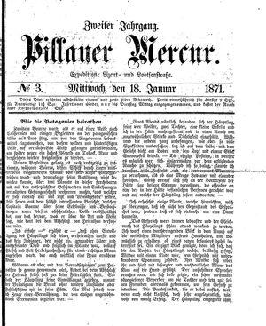 Pillauer Merkur vom 18.01.1871
